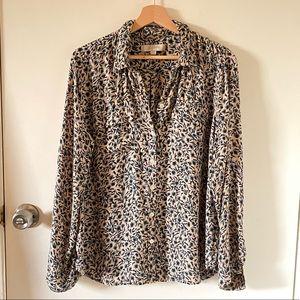 Vintage Loft blouse sz L